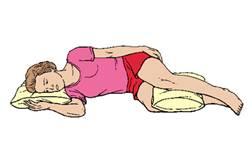 Dormire Con Un Cuscino Tra Le Gambe.Alcuni Consigli Generali Per La Colonna Dal